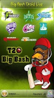 Screenshot of Big Bash Droid Live