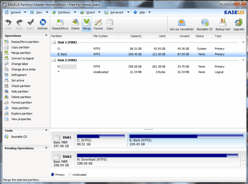EASEUS Partition Master-01