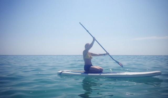 heather paddling