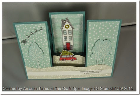 White Christmas, Holiday Home, Amanda Bates, The Craft Spa 009