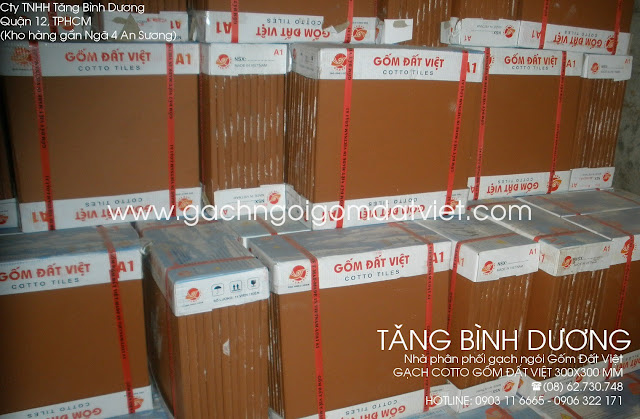 Gạch tàu 300x300mm Gốm Đất Việt