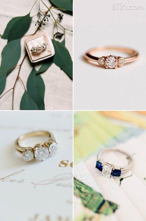 Những chiếc nhẫn đính hôn gắn 3 viên đá nổi bật trên