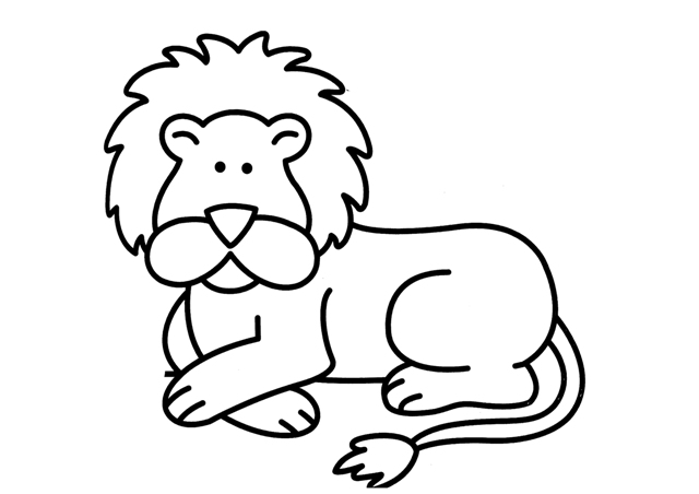Dibujos De Leones Para Colorear Online Dibujos Infantiles Para