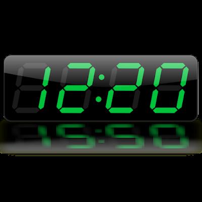 Tablet Clock