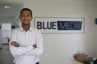 Congratulations to Nahom Belaineh General Manager at Blue Media Plc in Addis