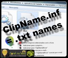 Clipname txt criator