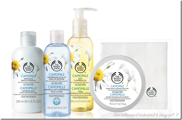 CAMOMILLA THE BODY SHOP