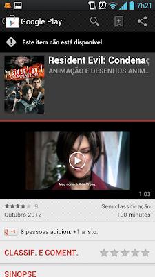 Google Play agora aluga e vende filmes e livros no Brasil 3