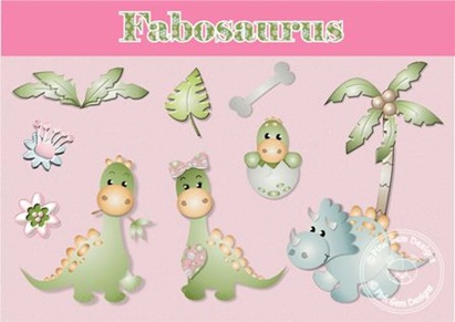 fabosaurus  set - copyright