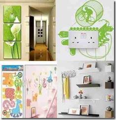 kumpulan artikel dan tips: dekorasi dinding rumah kreatif