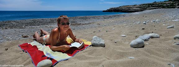 Platja de l'Estany Podrit.L'Ametlla de Mar, Baix Ebre, Tarragona