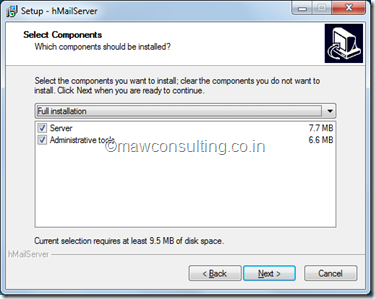 Setup Local Mail Server   Oracle Middleware