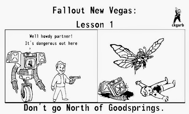 Fallout New Vegas, Video Games