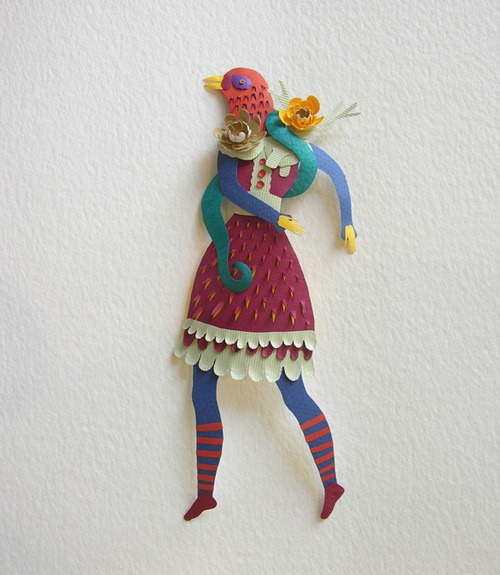 Elsa Mora Does To Paper What Tim Burton Film By Making Quirkily Cutesy Characters Props And Designs That Each Seem Be Part Of The Same Fantasy