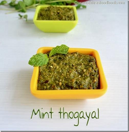 Mint - thogayal