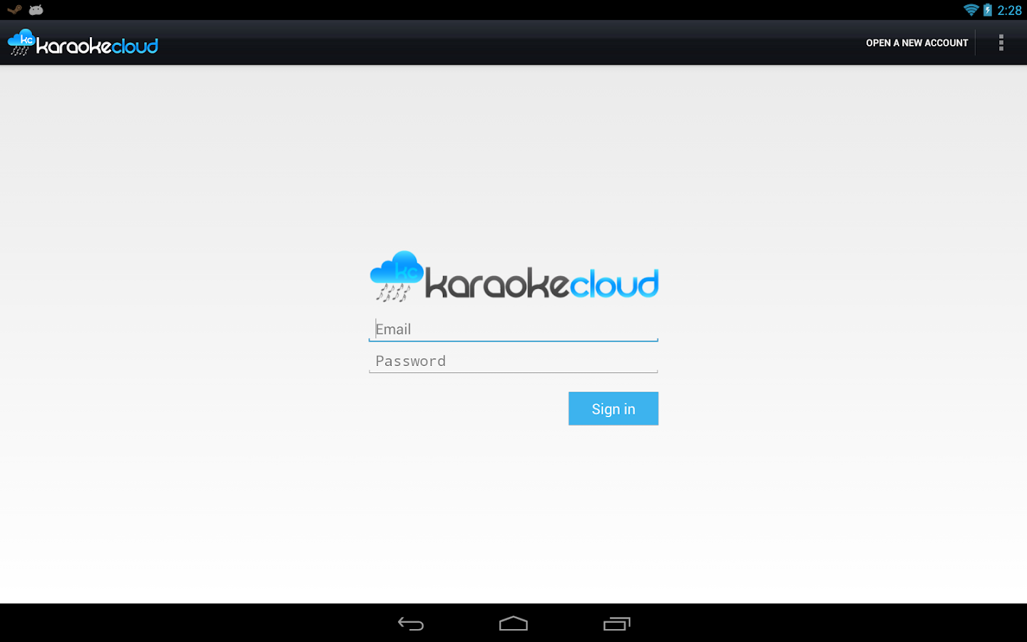 Karaoke Cloud - screenshot