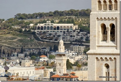 Brigham Young University on Mount of Olives, tb011612774