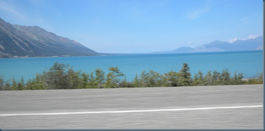 Kluane Lake, Yukon - incredibly large and beautiful blue waters