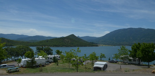 sites at Emigrant Lake Campground
