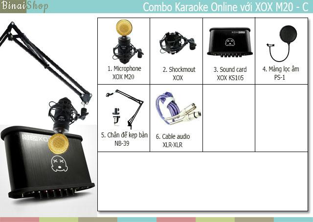 Microphone XOX M20