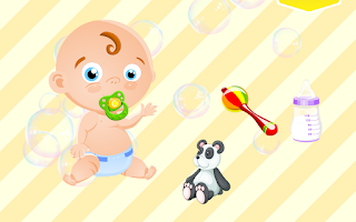 Screenshot of My Baby Friend Free - cute toy