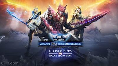 MU Đại Thiên Sứ Webgame MU phiên bản cuối cùng chính thức