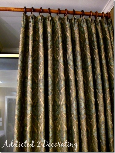 Diy Project How To Make Unlined Pinch Pleated Dry Panels With Contrast Fabric Band