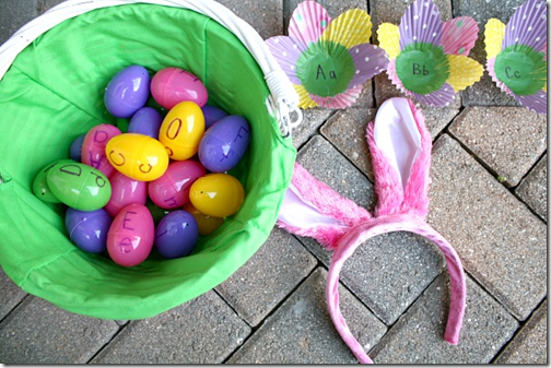 Bunny Hop ABC Easter Egg Game from Fantastic Fun & Learning