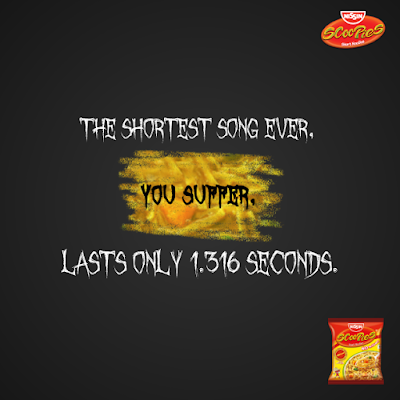 Enjoy a bowl of Scoopies short noodles while you digest this fact