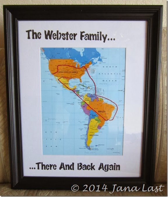 The Webster Family...There And Back Again