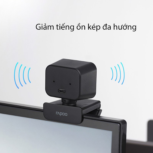 Rapoo C270L - Webcam Họp Trực Tuyến