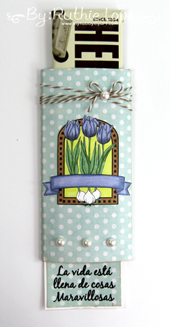 Beccy´s Place - Spring Tulips - Latinas Arts and Crafts - Ruthie Lopez - My Hobby My Art