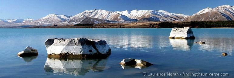Lake Tekapo Reflections crop