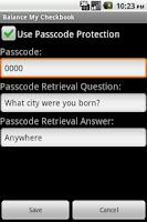 Screenshot of Balance My Checkbook Pro