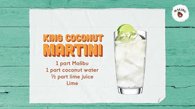 Were holding onto summer and never letting go with the KingCoconut Martini