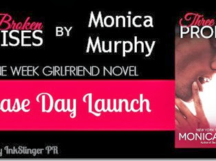 Release Day Launch: Three Broken Promises by Monica Murphy + GIVEAWAY