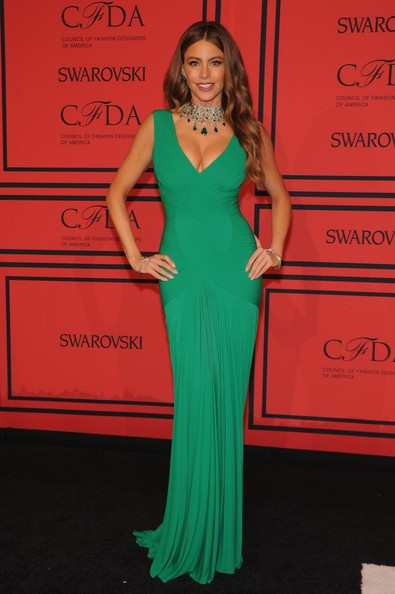 Sofia Vergara attends 2013 CFDA FASHION AWARDS