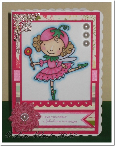 Cute Pink Birthday Card (4)