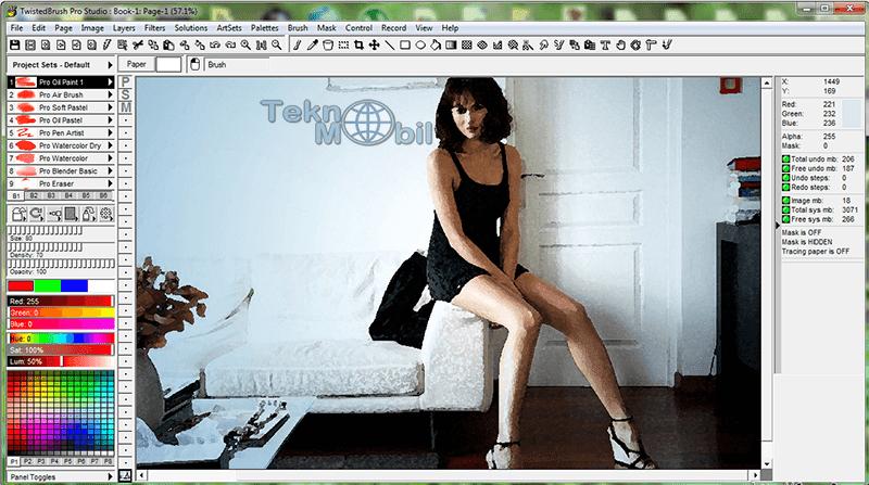 TwistedBrush Pro Studio v23.06 Full İndir