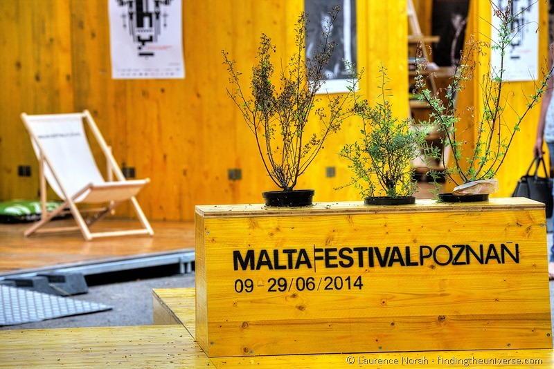 malta festival poznan sign