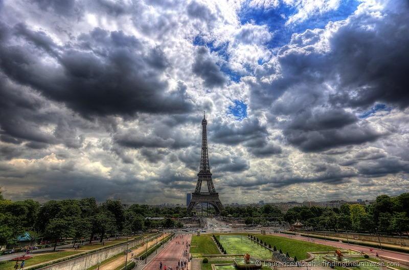 Paris Eiffel Tower HDR