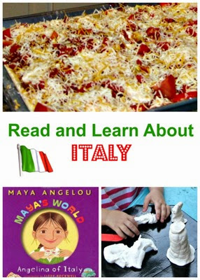 Planet Smarty Pants - a book and activities to learn about Italy