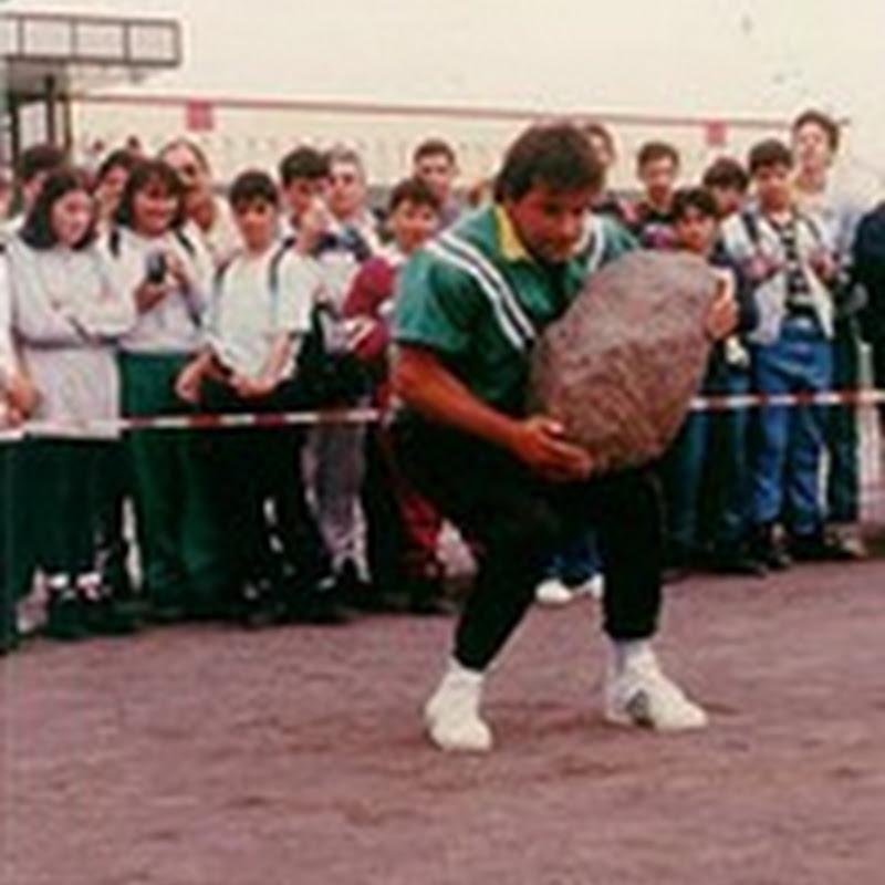Levantamiento de piedras - (Juegos Tradicionales Canarios)