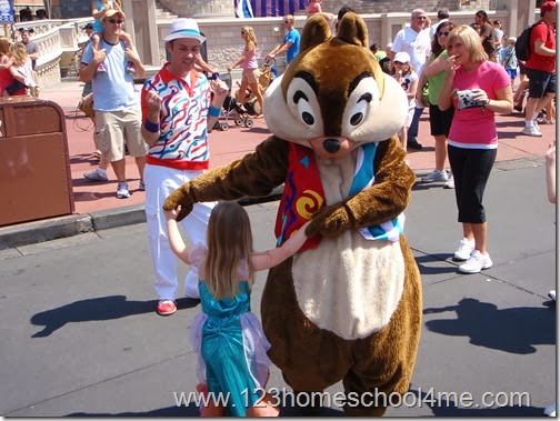 Move It! Shake It! Celebrate It! Street Party - Dancinc with Chip at Magic Kingdom