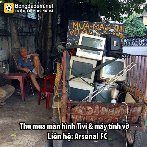 Arsenal đen thật :'(