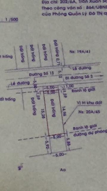 Đất nền Khu Dân Cư Nam Long Phường An Lạc Quận Bình Tân 07