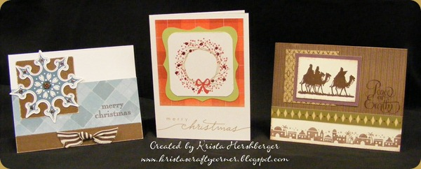 3 Christmas cards at ladies day - khershberger