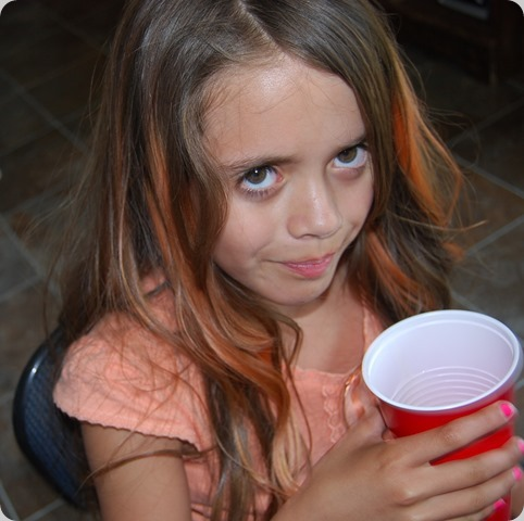 Youngest Grand Daughter Savannah, 9 years old.
