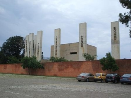 The Seven Pillars of Democracy, Apartheid Museum