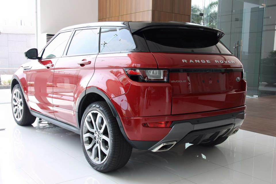 Ngoại thất Xe Range Rover Evoque HSE DYNAMIC Màu Đỏ 08